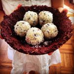 Easter Cacao Nest with Bliss Ball Eggs