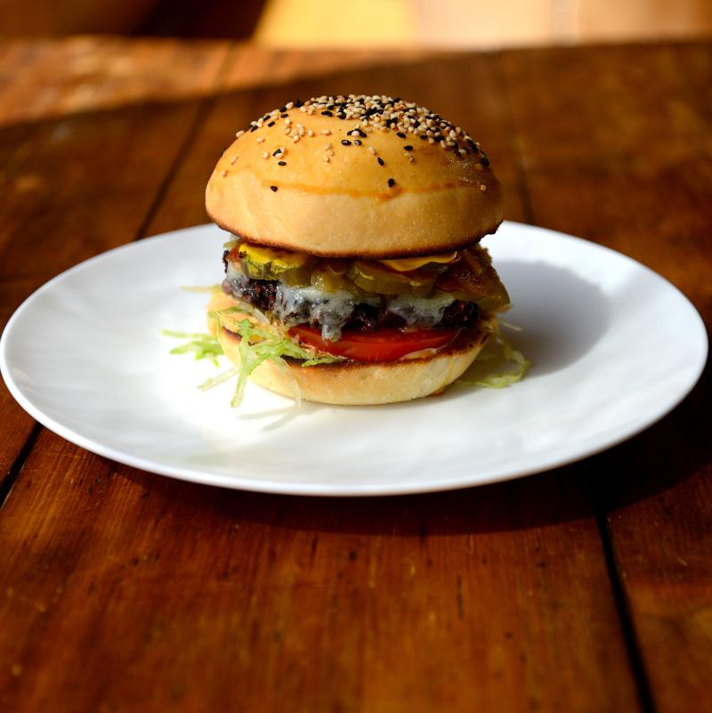 Chalet Cannelle Black Bean Veggie Burgers