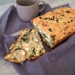 Gluten Free Spinach and Feta Loaf
