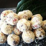 Coconut, Lime and Goji Raw Bliss Balls