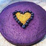 Maqui Berry Superfood Raw Cheese Cake