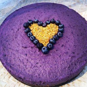 Maqui Berry Superfood Raw Cheese Cake
