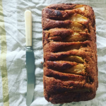 Gluten Free Pear and Fresh Ginger Loaf