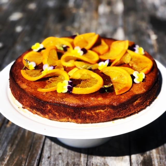 Gluten Free Orange Almond Cake