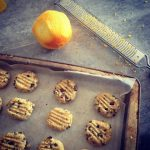 Orange, Sesame and Cacao Nib Biscuits – Gluten Free