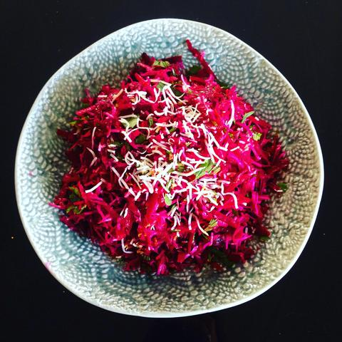 Beetroot Coconut Salad