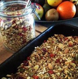 Nourishing Hub Homemade Muesli