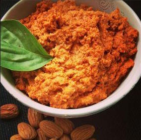 Red Pepper and Almond Dip