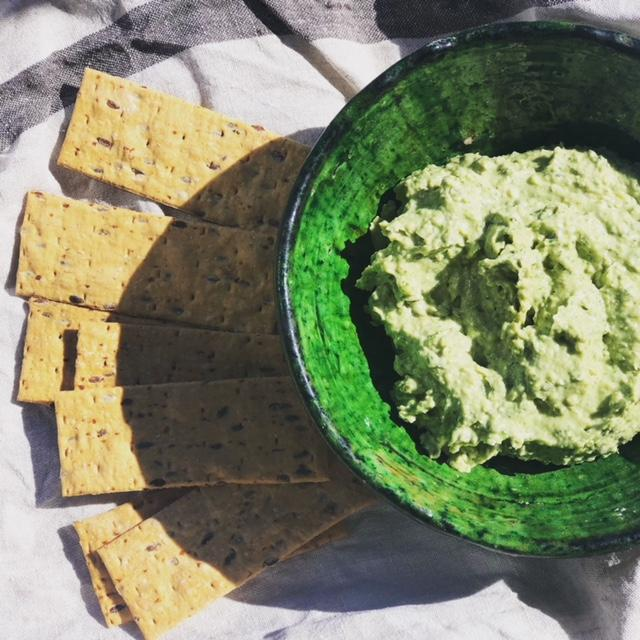 White Bean and Feta Green Dip