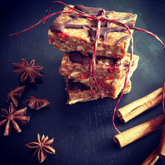 Chai Spiced Raw Bars