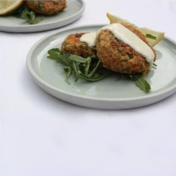 Thai Inspired Quinoa Fish Cakes