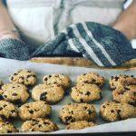 Gluten Free Quinoa Nut Butter Biscuits