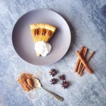 Pumpkin Pie with Coconut Cream – Gluten Free, Vegan, Paelo