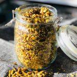 Golden Seed Salad Topper